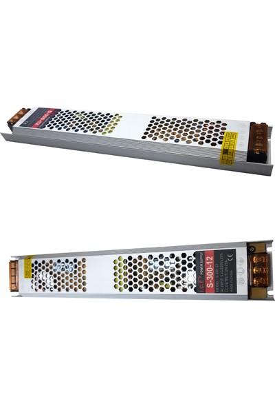 Ice 25A Slim LED Trafosu (300W) 12V