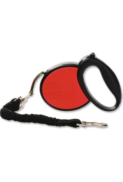 Smart Leash Smartleash Kırmızı-Mcompact Otomatik Köpek Tasması