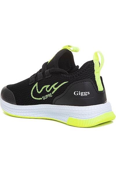 Giggs Filet Spor 017 Anorak Siyah Sarı