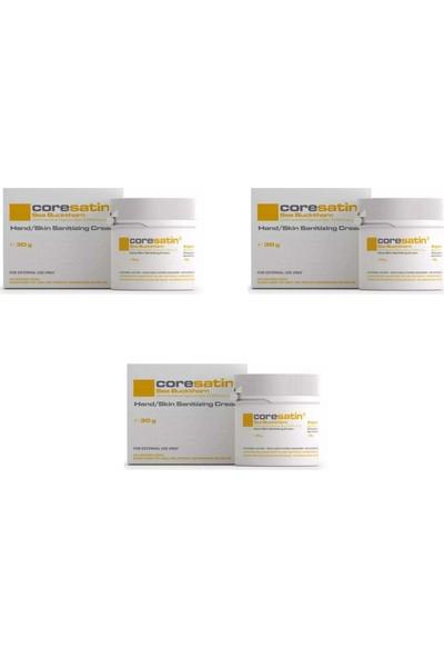 Coresatin Fungicidal Barrier Crem Kavanoz Sarı 30 gr 3 Adet