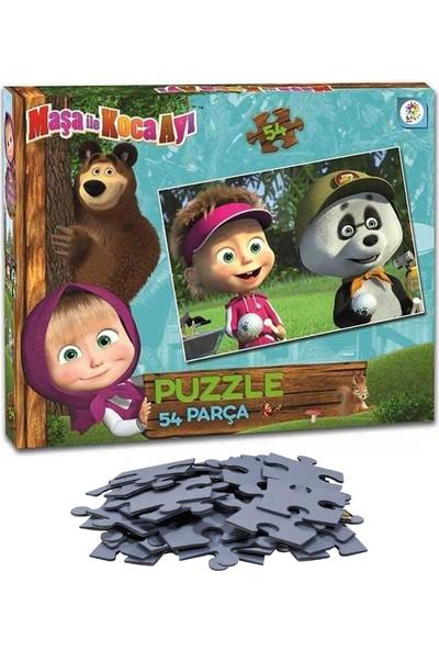 Laço Maşa ile Koca Ayı 54 Parça Çocuk Puzzle