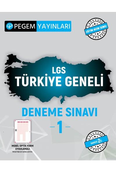 Pegem Akademi Yayıncılık Lgs Türkiye Geneli Deneme Sınavı 1