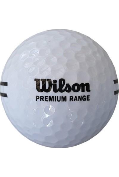 Wilson 1 Adet WS115 Premium Range Golf Topu Beyaz