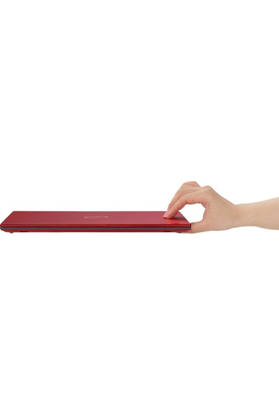 "Fujitsu Lifebook S26391-K489-V200 U939 Red Intel Core i5 8265U 8GB 256GB SSD Freedos 13.3"" FHD Taşınabilir Bilgisayar"