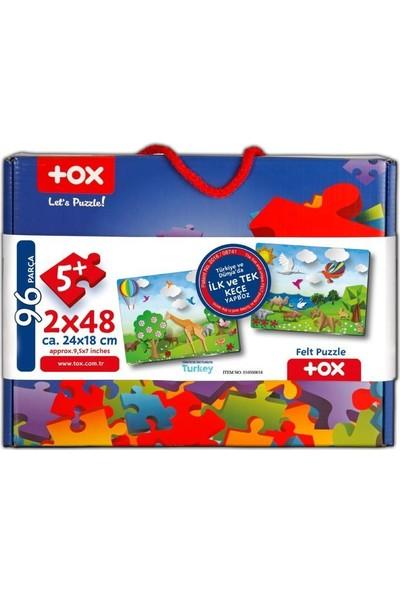 Tox Origami 5+ Keçe Yapboz - 5 Yaş Puzzle T18