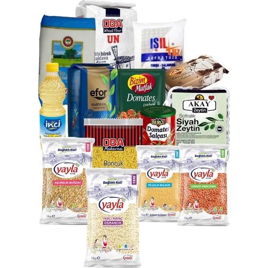 Oba Gıda Erzak Paketi 20 Parça