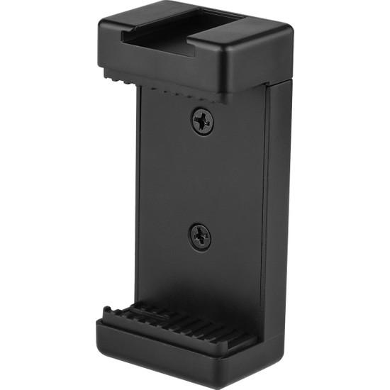 Anself Telefon Tripod Montaj Adaptörü Telefon Tutucu Klip