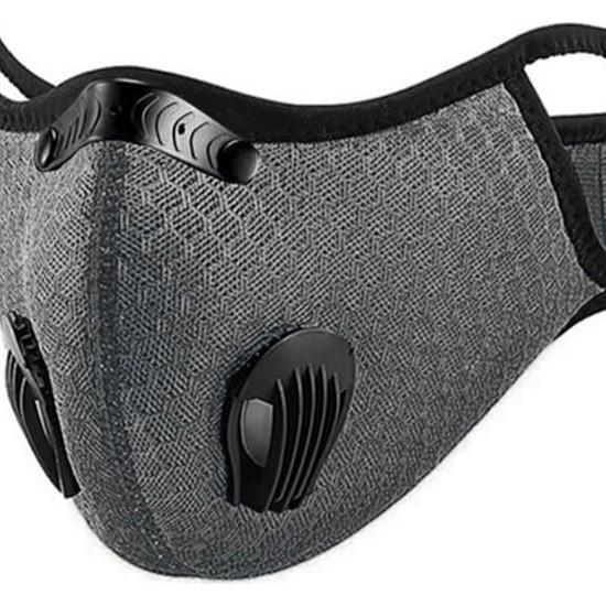 Wedo Aktif Karbon Filtreli Sporcu Maskesi