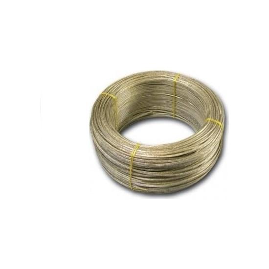 ACY 4 mm Çelik Çamaşır Ipi Pvc Kaplama Tel Kopmaz Çelik Çamaşır Tel