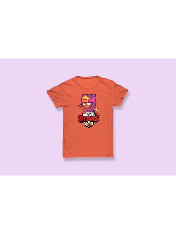 Brawl Stars Baskılı Çocuk T-Shirt