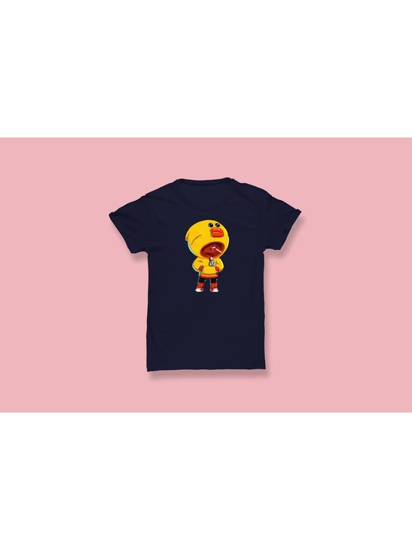 Brawl Stars Sally Leon Baskılı Çocuk T-Shirt