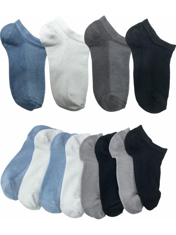Belyy Socks 4'lü Bambu Yazlık Çocuk Çorap