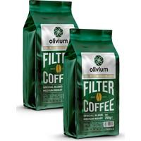 Olivium Öğütülmüş Filtre Kahve - 2 x 250 gr