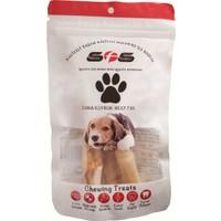 Sfs Köpek Maması Dana Kuyruk Paket İçeriği 100Gr %100 Doğal Çiğneme Ürünü