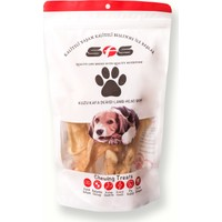Sfs Köpek Maması Kuzu Kafa Derisi Paket İçeriği 100Gr %100 Doğal Çiğneme Ürünü