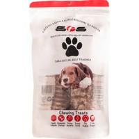 Sfs Köpek Maması Dana Gırtlak Paket İçeriği 100Gr %100 Doğal Çiğneme Ürünü