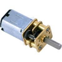 Pololu Hp 6V 150RPM Mikro Metal Redüktörlü Dc Motor (210:1)