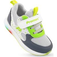 Işıklı Erkek Çocuk Bebek Spor Ayakkabı Ortapedik