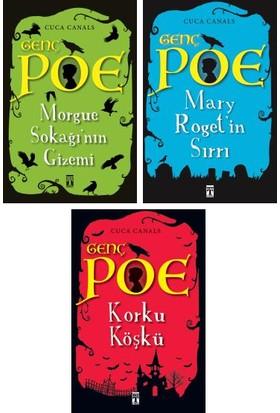 Genç Poe Serisi 3 Kitap Set Cuca Canals - Morgue Sokağı'nın Gizemi - Mary Roget'in Sırrı - Korku Köşkü