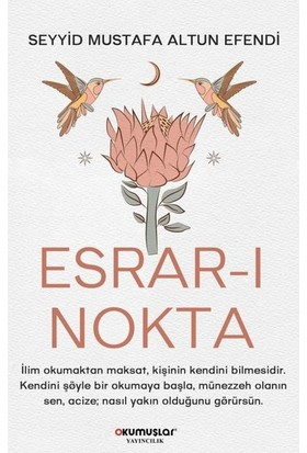 Esrar-I Nokta - Seyyid Mustafa Altun Efendi