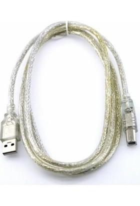 Teknogreen TKU-2010 USB 2.0 Şeffaf Kablo 10 mt