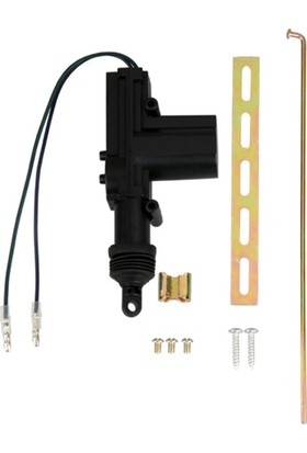 Zembil Merkezi Kapı Kilit Motoru 2 Kablolu 12V