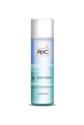 Roc Eye Make-Up Remover Çift Etkili Göz Makyaj Temizleyici 125 ml