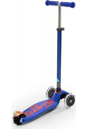 Micro Scooter Maxi Deluxe Işıklı Mavi MMD067