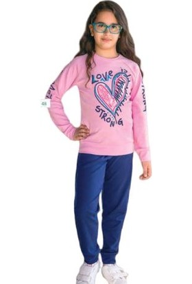 Elsima Kız Çocuk Pijama Takımı