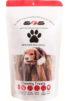 Sfs Köpek Maması Dana Kamış Sığır Penisi Paket İçeriği 100Gr %100 Doğal Çiğneme Ürünü