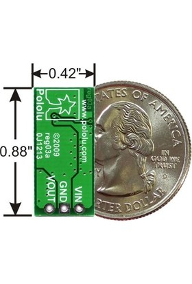 Pololu Ayarlanabilir Regülatör - Adjustable Boost Regulator - 4-25V