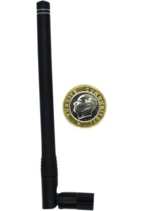 Linx 853MHZ~883MHZ 90 Derece Katlanabilir Rf Anten 2.3dbi 142MM Sma Male