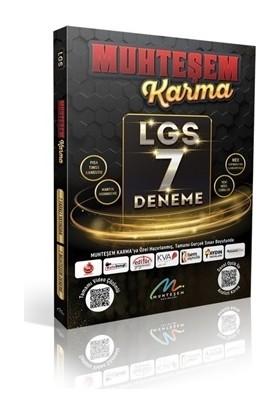 Muhteşem Yayınları Muhteşem Karma Lgs 7 Farklı Yayın 7 Farklı Deneme 2021 Model