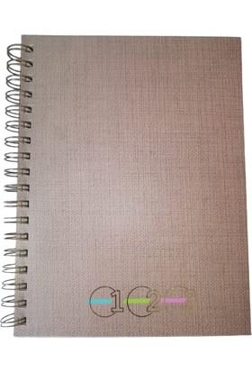 Keskin Color 100 Yaprak Ayraçlı Defter Çizgili, Noktalı 17 x 24 cm