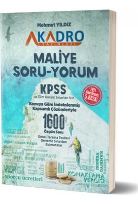 A Kadro Yayınları Maliye Soru Bankası - Mehmet Yıldız