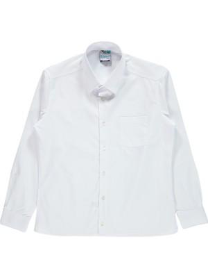 Timo Erkek Çocuk Gömlek 10-13 Yaş Beyaz