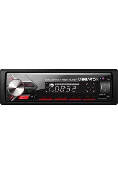 Megavox MGX-452 4X60 USB Bluetooth Micro Sd Oto Teyp 2021 Yeni Seri