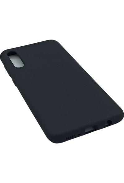 Merwish Case Samsung A70 Içi Kadife Soft Lansman Silikon Kılıf Siyah