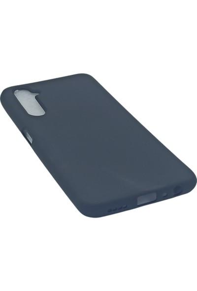 Merwish Case Oppo Realme 6 Pro Içi Kadife Soft Lansman Silikon Kılıf Siyah