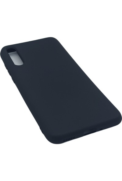 Merwish Case Huawei P Smart S Içi Kadife Soft Lansman Silikon Kılıf Siyah