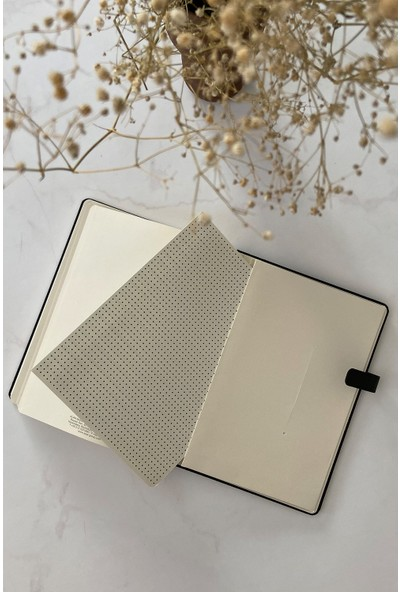 Pigmento Home Decor Arwey Lanvin, Not Defteri, Aylık Planlayıcı, 256 Sayfa 16 x 21,5 cm
