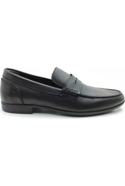 Artmen Plus Serisi Hakiki Deri Loafer Siyah Günlük Ayakkabı