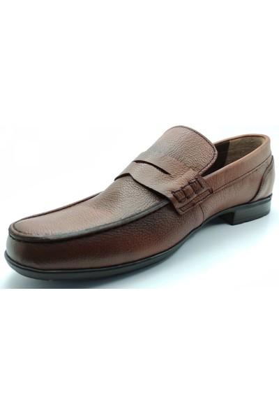 Artmen Plus Serisi Deri Loafer Taba Günlük Ayakkabı