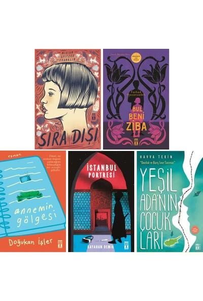 Genç Timaş 5 Kitap Set 5. 6. 7. 8. Sınıflar Ortaokul Okuma Kitapları / Sıra Dışı - Bul Beni Ziba - Annemin Gölgesi - Istanbul Portresi - Yeşil Ada'nın Çocukları