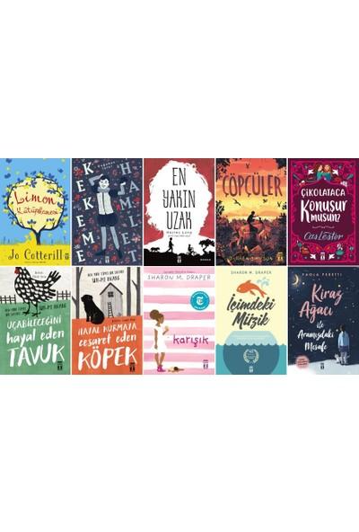 Genç Timaş 10 Kitap Set 5. 6. 7. 8. Sınıflar Ortaokul Okuma Kitapları / Limon Kütüphanesi , En Yakın Uzak - Içimdeki Müzik - Uçabileceğini Hayal Eden Tavuk - Kiraz Ağacı ile Aramızdaki Mesafe