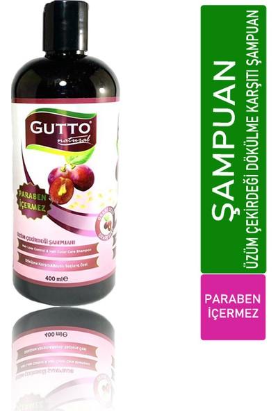 Gutto Üzüm Çekirdeği Dökülme Karşıtı Bakım Şampuanı 400 ml