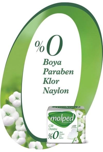 Molped Pure Soft Hijyenik Ped Normal Mega Fırsat 50 Li 2 Paket
