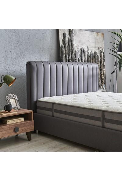 Yataş Bedding Ionic Energy Somni 3'lü Yatak Baza Başlık Set Çift Kişilik 160x200 cm