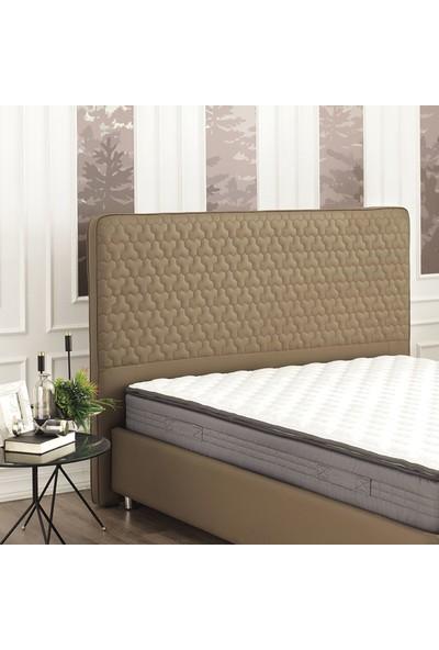 Yataş Bedding Fresh Sense Somni Baza Flora 3'lü Yatak Baza Başlık Set Çift Kişilik 160x200 cm