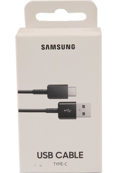 Samsung Type-C Hızlı Şarj ve Data Aktarım Kablosu 3.0A EP-DG930IBEGWW (Samsung Türkiye Garantilidir)